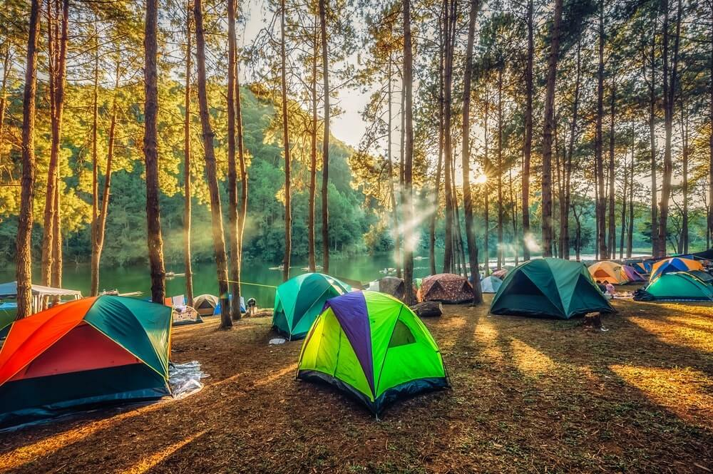 instent camping tent