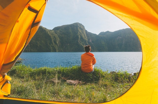 Tall Person Tent