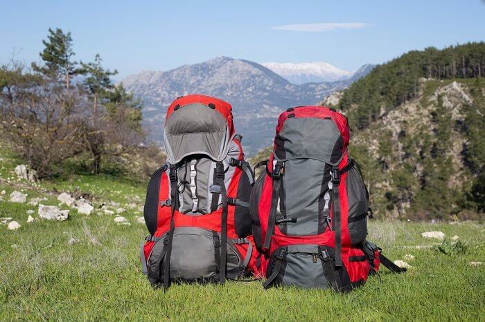 attach a sleeping bag to a backpack