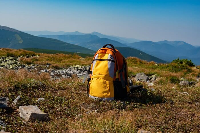 how to pack a tent in a backpack