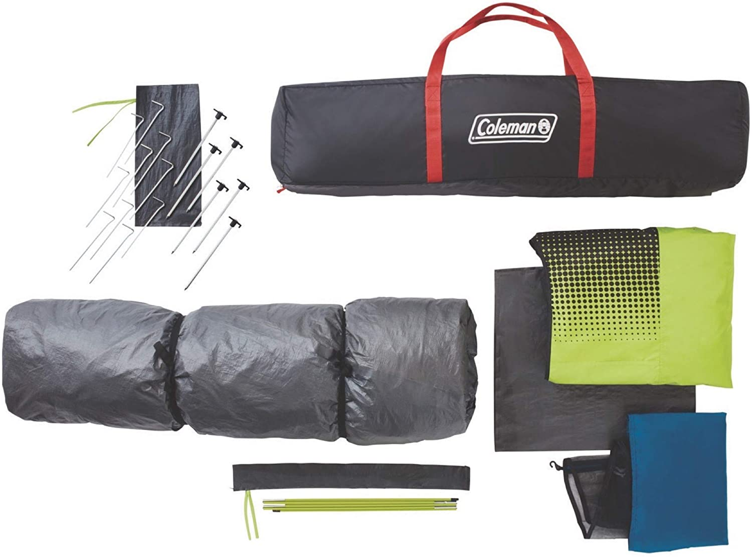 Overview coleman 10 person instant tent