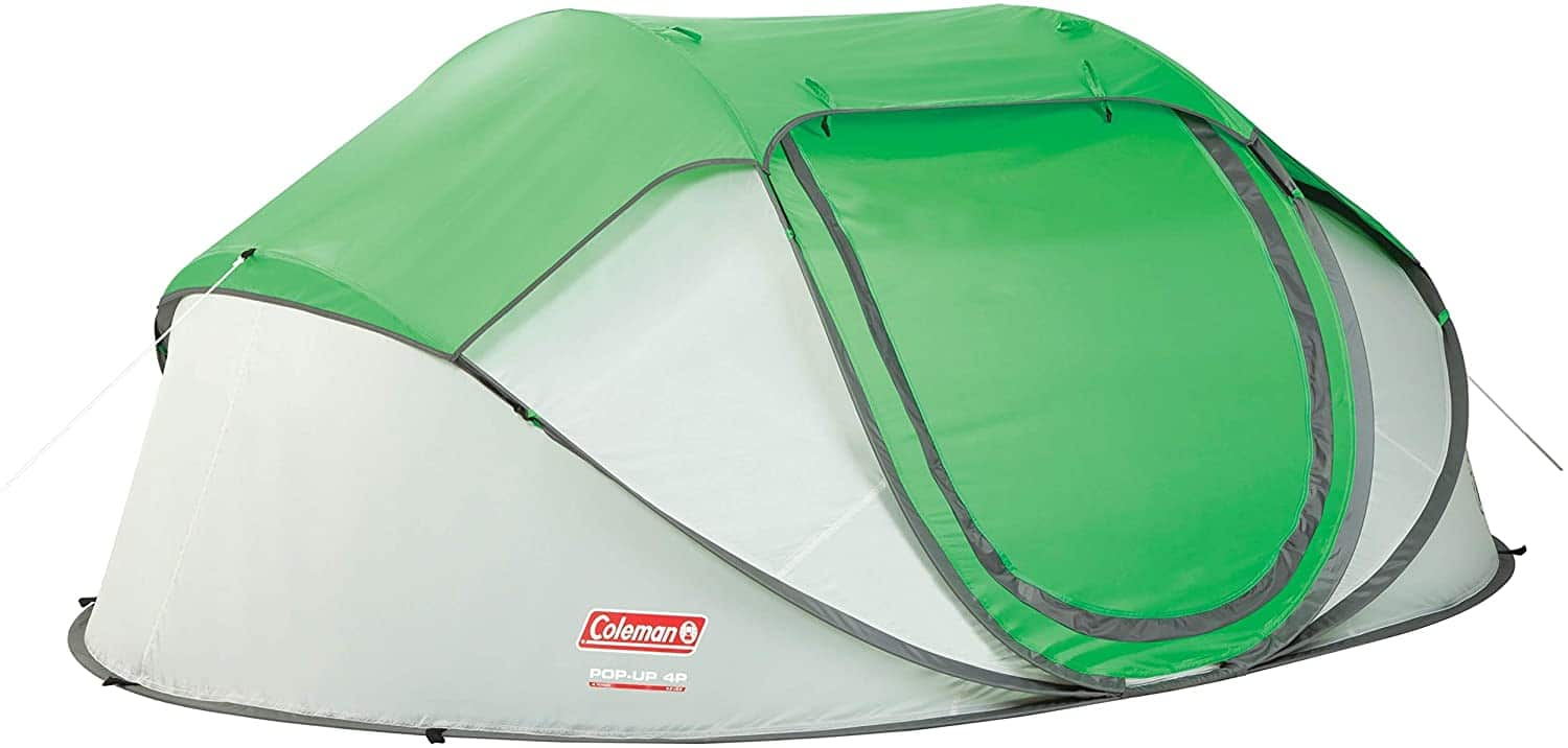 Coleman 4-Person Easy Pop-Up Tent