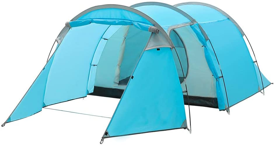 Night Cat 2 3 4 Persons Camping Tent With Easy Instant Pop Up
