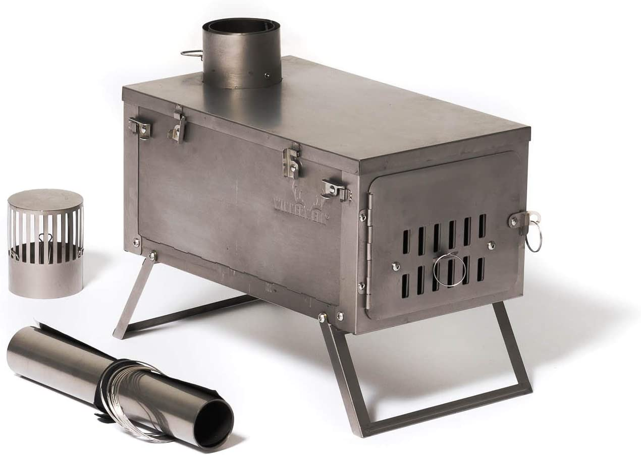 TMS Portable Military Camping Wood Stove